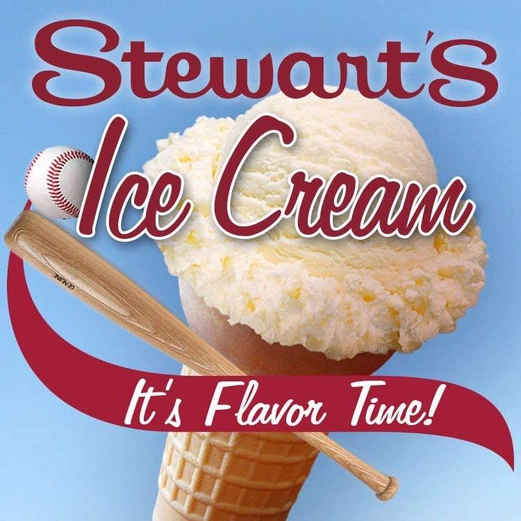 Stewart's Ice Cream, It's Flavor Time!