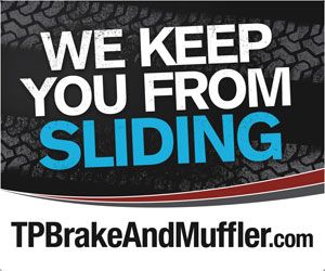 We Keep You From Sliding TPBrakeAndMuffler.com